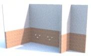 Procedura per la corretta posa di piastrelle a parete - Posa piastrelle diagonale ...
